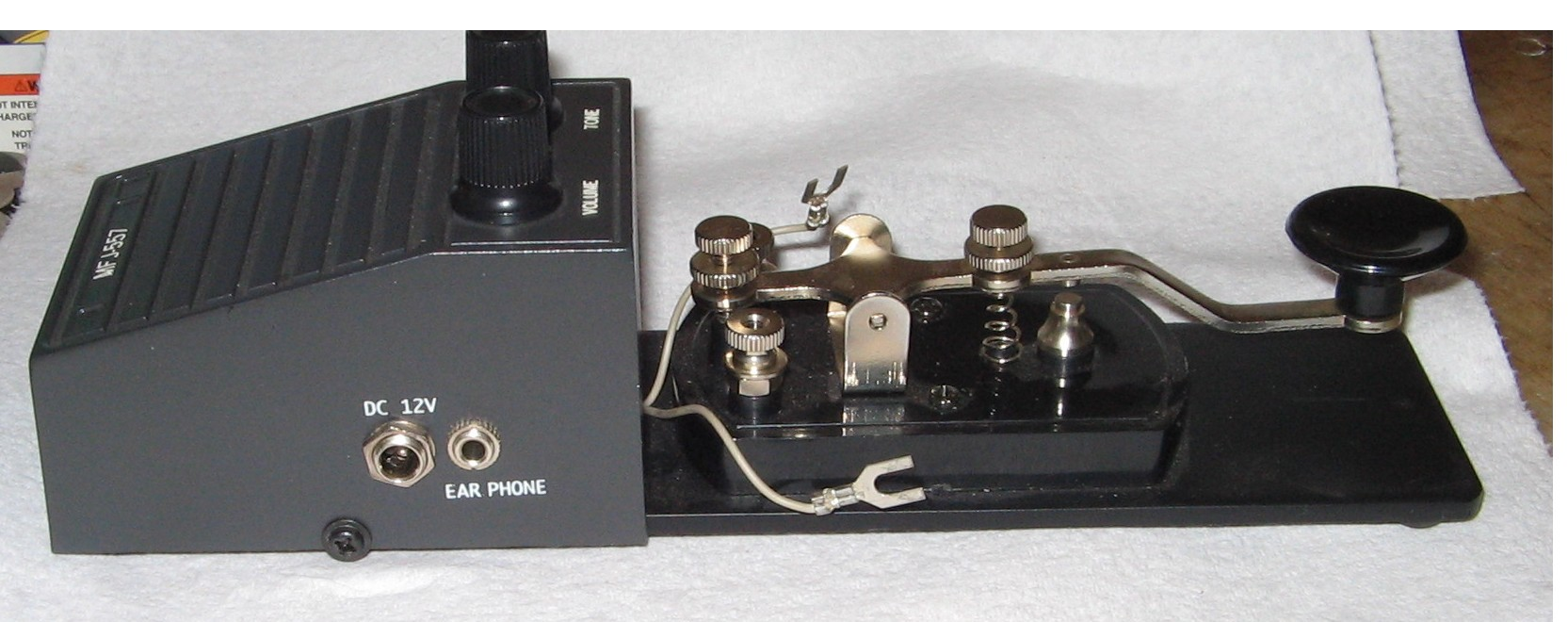 MFJ-557 Code Oscillator With Key.JPG